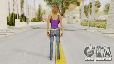 Busty Girl para GTA San Andreas tercera pantalla
