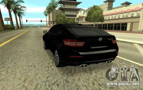 BMW X6M para GTA San Andreas left