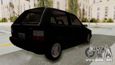 Fiat Uno para GTA San Andreas left
