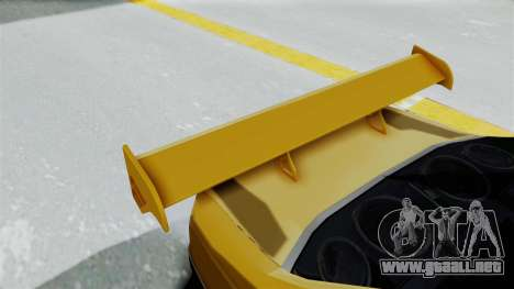Peugeot Pars Full Sport para vista lateral GTA San Andreas