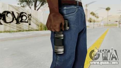 Metal Slug Weapon 6 para GTA San Andreas tercera pantalla