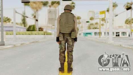 MGSV Phantom Pain RC Soldier Vest v1 para GTA San Andreas tercera pantalla