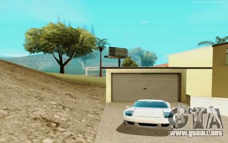 ENB Series for SAMP 0.3.7 para GTA San Andreas sucesivamente de pantalla