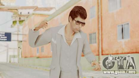 Scarface Tony Montana Suit v1 with Glasses para GTA San Andreas