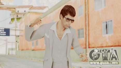 Scarface Tony Montana Suit v1 with Glasses para GTA San Andreas