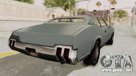 Beta VC Sabre para la visión correcta GTA San Andreas