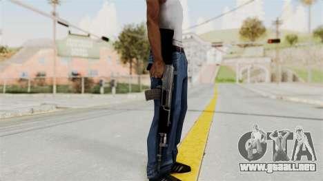 IOFB INSAS Plastic Black Skin para GTA San Andreas tercera pantalla