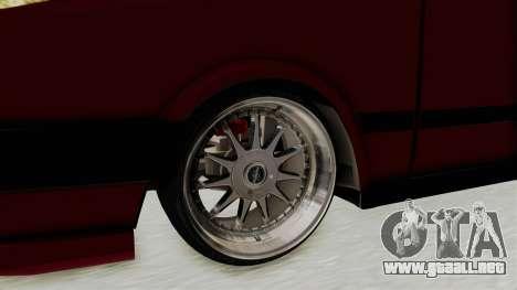 Tofas Dogan 1.6 para GTA San Andreas vista hacia atrás