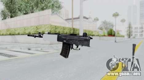 IOFB INSAS White para GTA San Andreas segunda pantalla