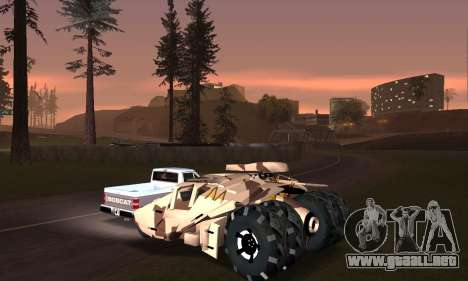 Army Tumbler Gun Tower from TDKR para el motor de GTA San Andreas