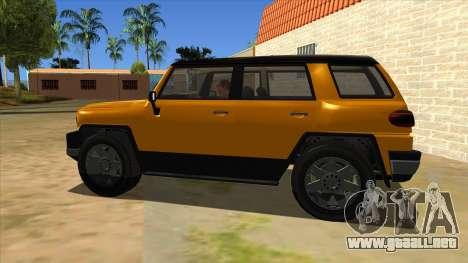 Karin Beejay XL para GTA San Andreas left