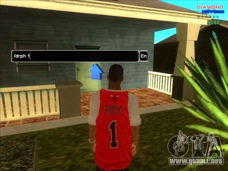 Fichas de hogares para la ARP para GTA San Andreas tercera pantalla