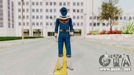 Power Ranger Zeo - Blue para GTA San Andreas segunda pantalla
