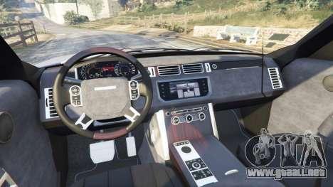 Range Rover (L405) Vogue 2013 para GTA 5