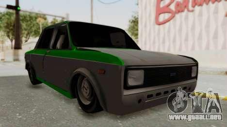 Fiat 128 De Picadas para la visión correcta GTA San Andreas