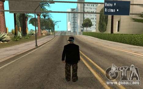 Varios Los Aztecas Gang Member v5 para GTA San Andreas segunda pantalla