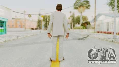 Scarface Tony Montana Suit v4 para GTA San Andreas tercera pantalla