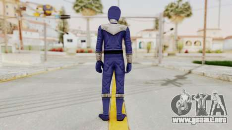 Power Rangers Time Force - Blue para GTA San Andreas tercera pantalla