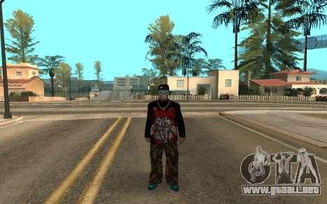 Varios Los Aztecas Gang Member v5 para GTA San Andreas