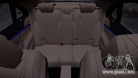 Mercedes-Benz w222 para GTA 4 vista interior