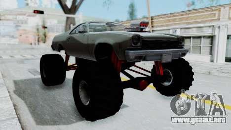 Chevrolet El Camino 1973 Monster Truck para GTA San Andreas