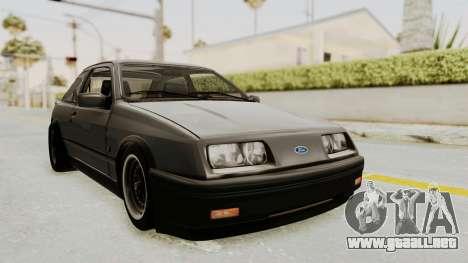 Ford Sierra Mk1 Drag Version para GTA San Andreas