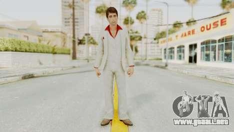 Scarface Tony Montana Suit v4 para GTA San Andreas segunda pantalla
