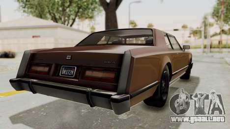 GTA 5 Dundreary Virgo Classic para la visión correcta GTA San Andreas