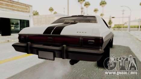 Ford Gran Torino 1975 para GTA San Andreas left