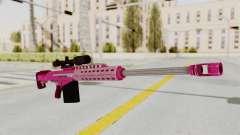 GTA 5 Heavy Sniper Pink para GTA San Andreas