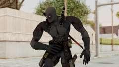 Black Deadpool para GTA San Andreas