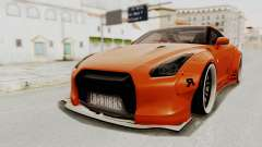 Nissan GT-R R35 Liberty Walk LB Performance para GTA San Andreas