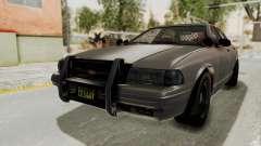 GTA 5 Vapid Stanier II Police Cruiser 2 IVF para GTA San Andreas