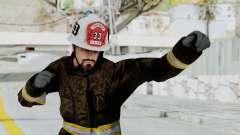 GTA 5 Fireman SF para GTA San Andreas