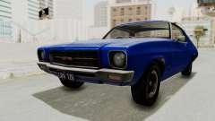 Holden Monaro GTS 1971 AU Plate IVF para GTA San Andreas