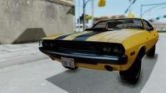 Dodge Challenger RT 440 1970 Six Pack para GTA San Andreas