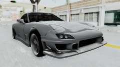 Mazda RX-7 FD3S HellaFlush para GTA San Andreas