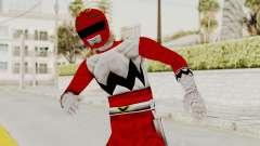 Power Rangers Lost Galaxy - Red para GTA San Andreas