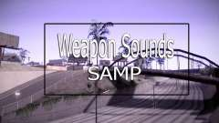 Weapon Sounds para GTA San Andreas