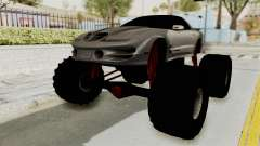 Pontiac Firebird Trans Am 2002 Monster Truck para GTA San Andreas