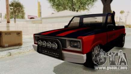 Mazda Tow Truck Pickup para GTA San Andreas