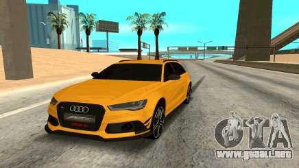 Audi RS6 Avant 2015 ABT para GTA San Andreas