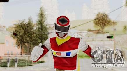 Power Rangers In Space - Red para GTA San Andreas