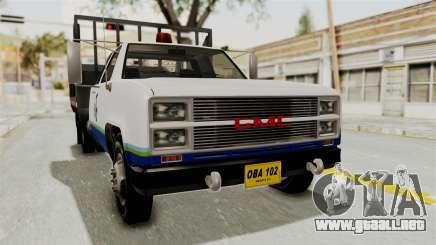 GMC Sierra 3500 camioneta para GTA San Andreas
