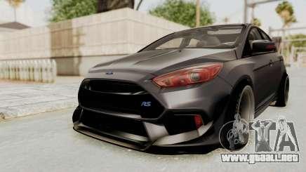 Ford Focus RS 2017 Rocket Bunny para GTA San Andreas
