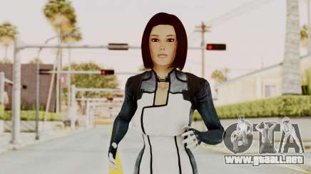 Mass Effect 3 Dr. Eva New Short Hair para GTA San Andreas