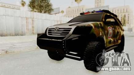 Toyota Fortuner 4WD 2015 Paraguay para GTA San Andreas