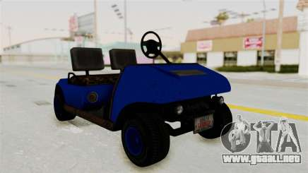 GTA 5 Gambler Caddy Golf Cart IVF para GTA San Andreas