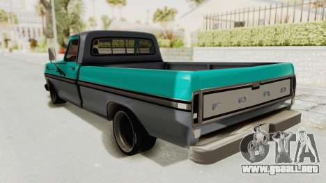 Ford F-150 Black Whells Edition para GTA San Andreas left