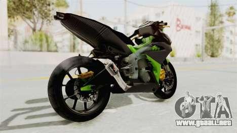 Yamaha MX King 150 Modif 250 GP para la visión correcta GTA San Andreas